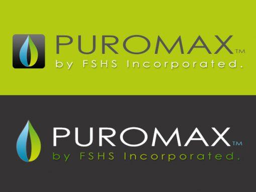 Puromax Logo Design