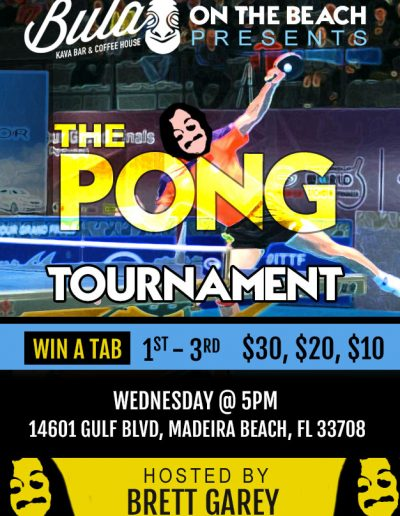 Bula on the Beach - Ping Pong Tournament