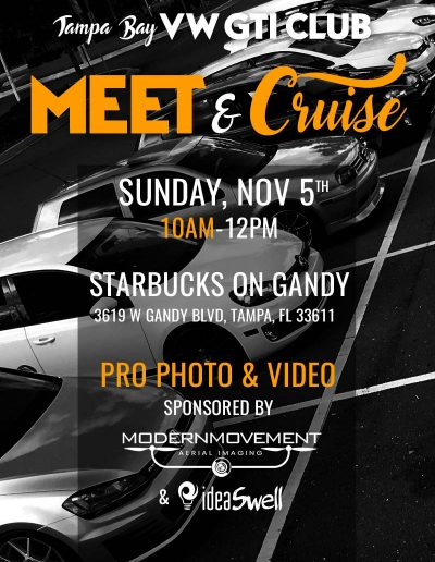 Tampa Bay GTI Club: Meet & Cruise
