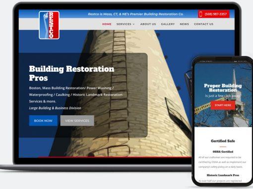 Web Design for Restco