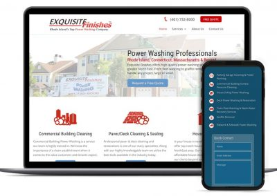 Power Washing RI Web Design & SEO