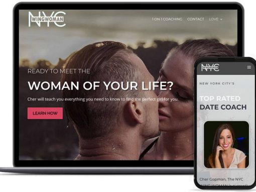 NYC WingWoman Web Design