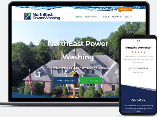 NorthEast Power Washing Web Design
