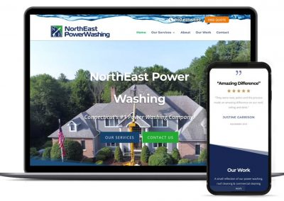 NorthEast Power Washing Web Design