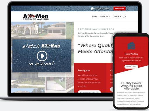 Amen Power Washing Web Design & SEO