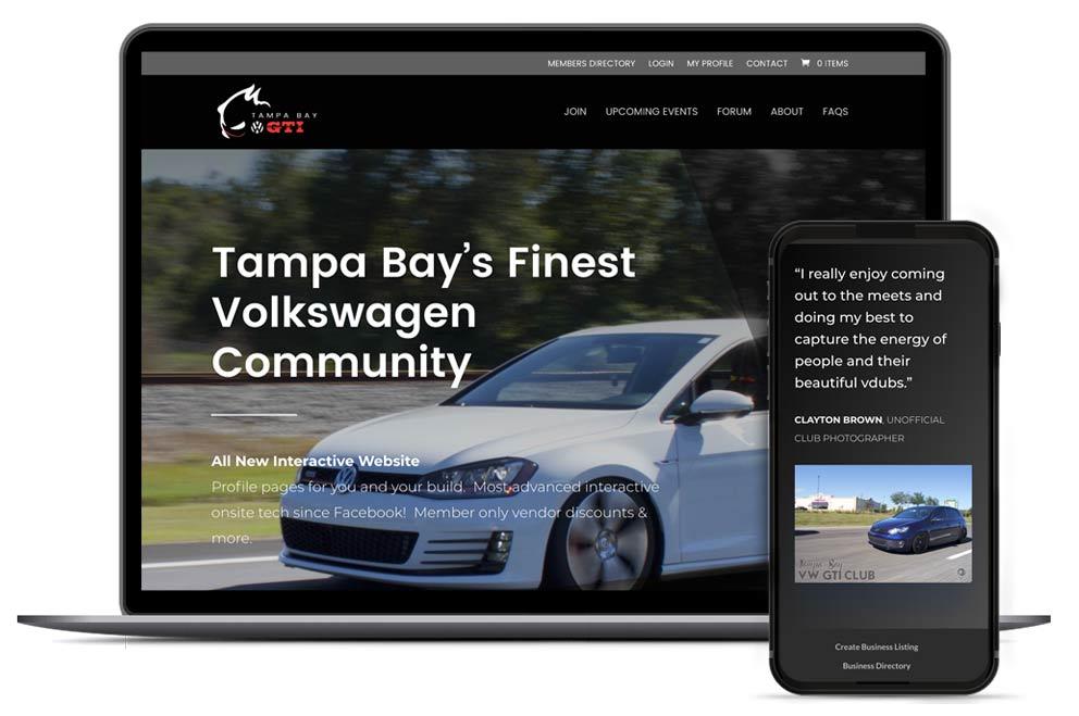 Web Design for Gard'nClean