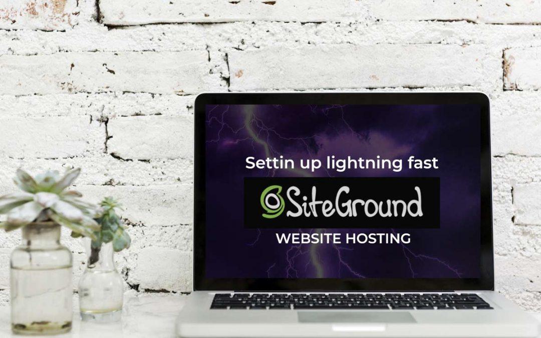 Setting Up SiteGround Web Hosting