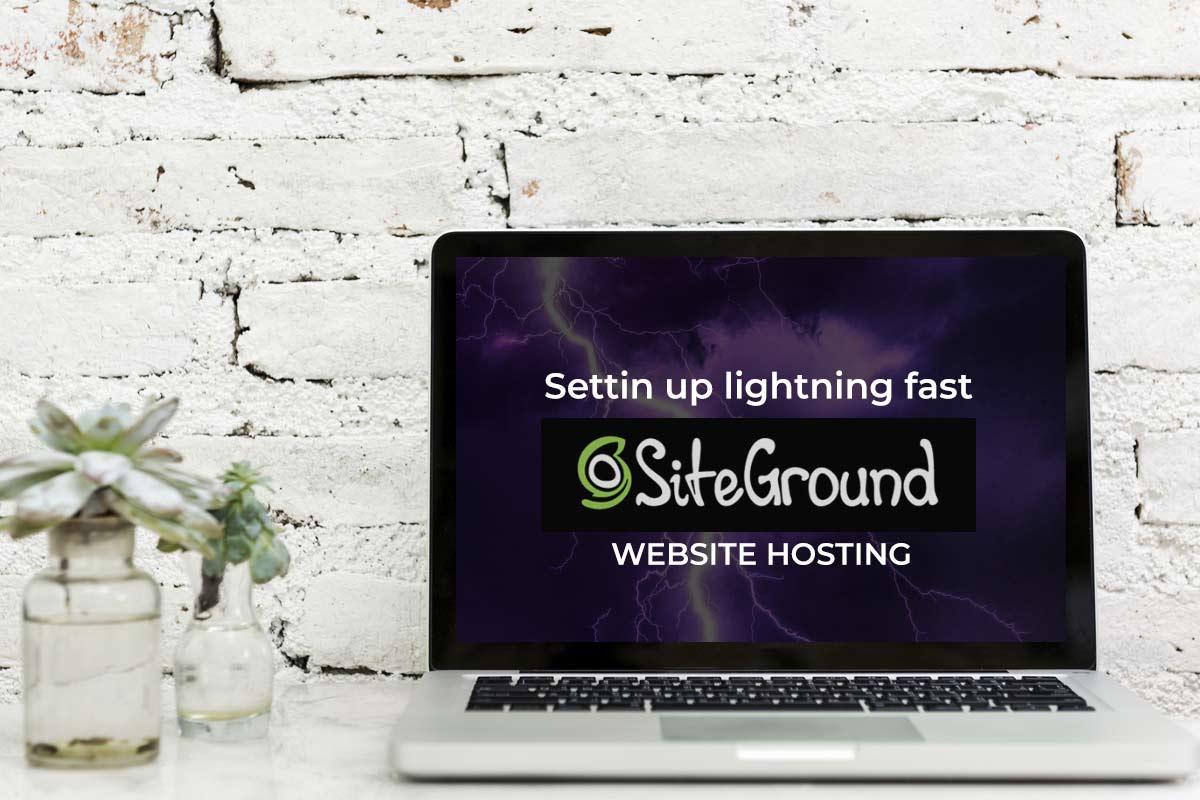 Website Hosting with SiteGround Setup