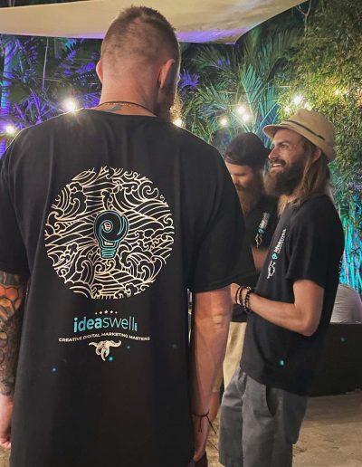 Idea Swell 2021 Tee Shirt Design Model - Back